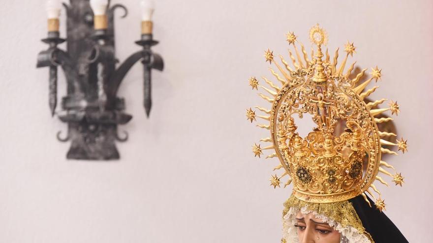 Veneración a la Virgen de la Soledad