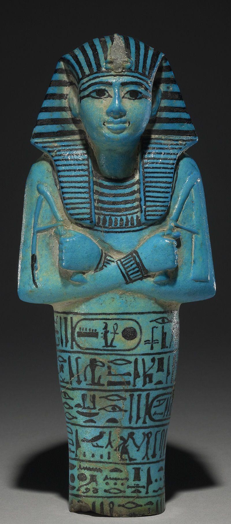 Estela de caliza con un faraón golpeando a un enemigo_81550a 1295 a C.) encontrada en Menfis. // Trustees of the British Museum
