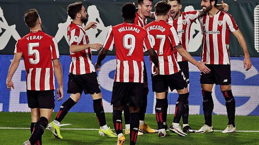 L'Athletic, a semifinals de la Copa
