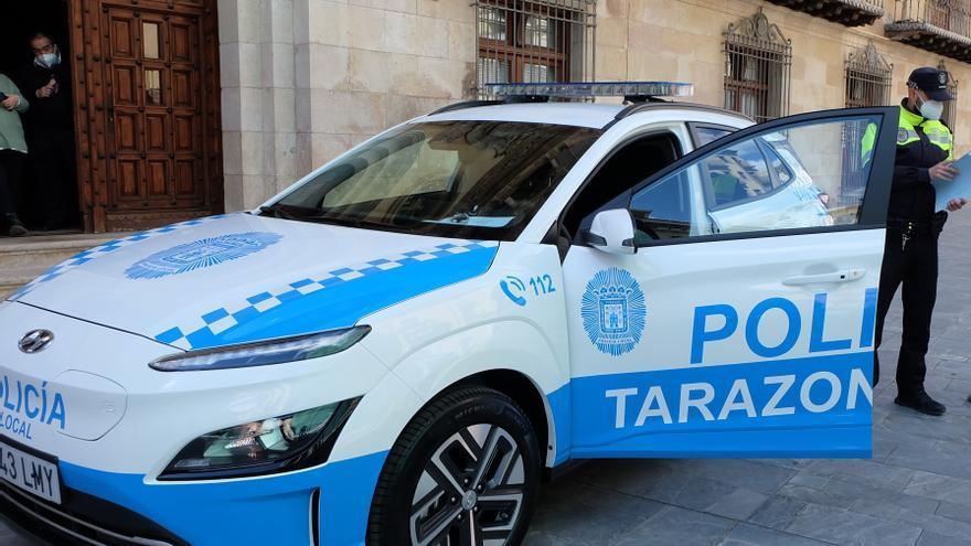 Detenido tras una pelea un joven en Tarazona con la bayoneta de un fusil
