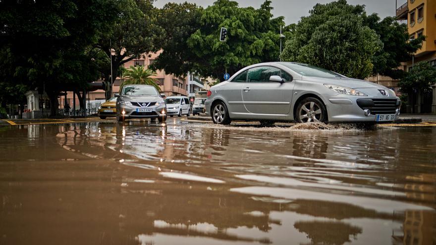 Las lluvias torrenciales cuestan más de 600 millones a Canarias en solo 20 años