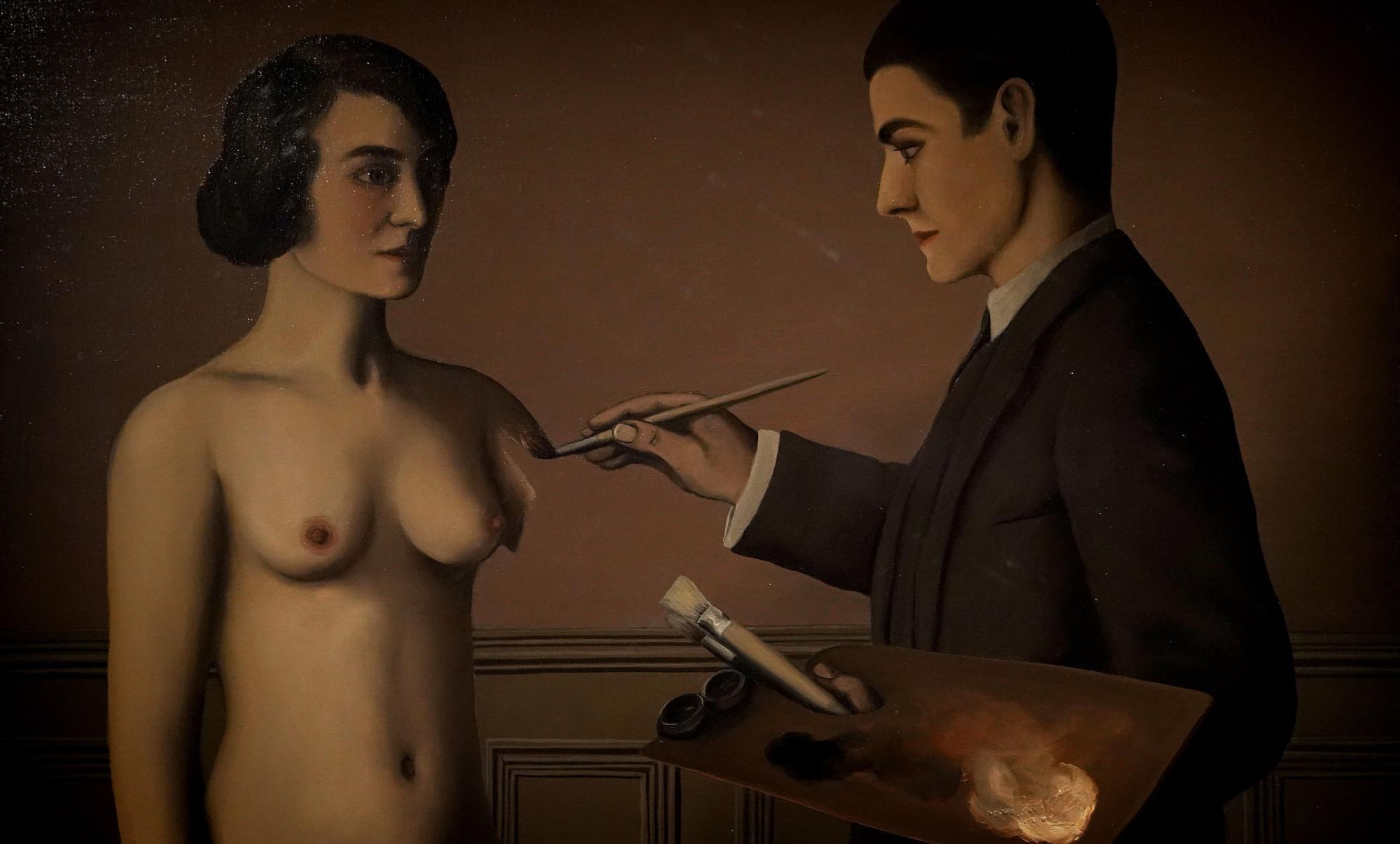 Exposición de Magritte en el Museo Thyssen