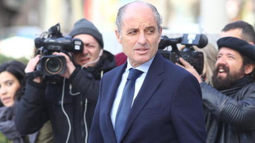 Francisco Camps, procesado por la pieza de contratos menores de la Gürtel