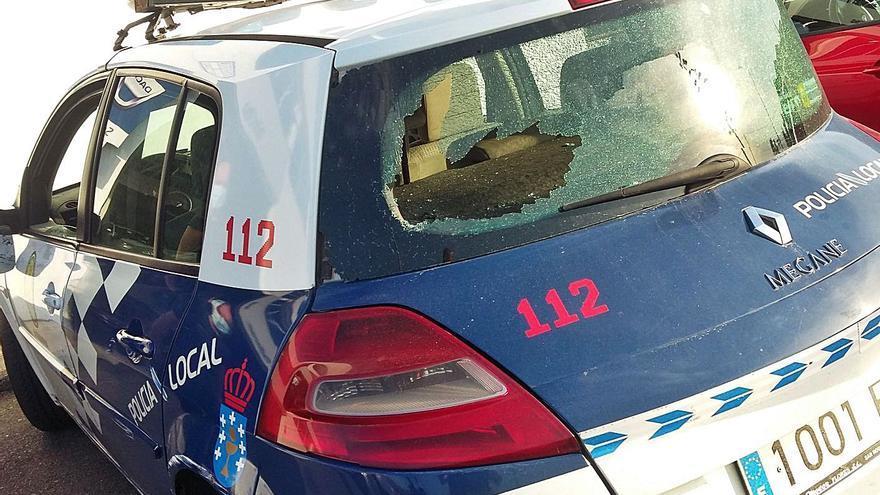 Localizan a los cuatro veinteañeros que agredieron a un policía en A Guarda