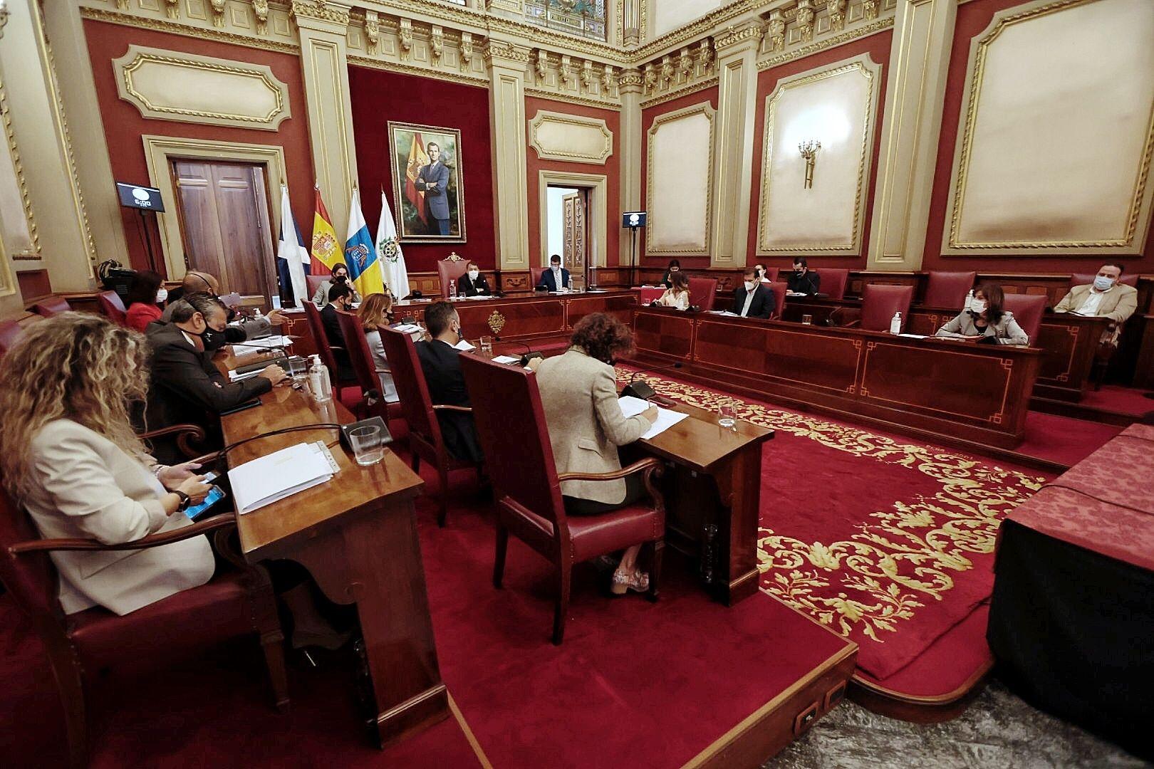 Pleno del Ayuntamiento de Santa Cruz de Tenerife 30/04/2021
