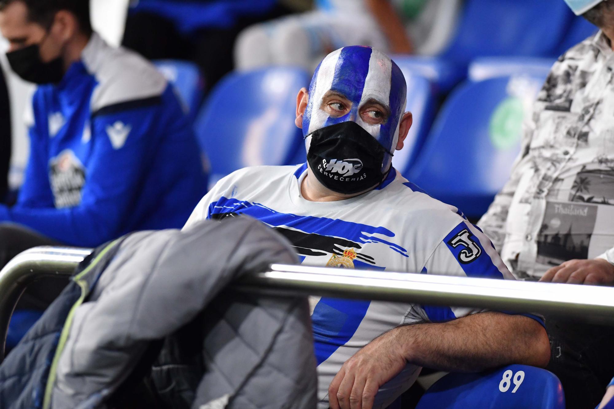 La mejor entrada en el estadio de A Coruña en año y medio