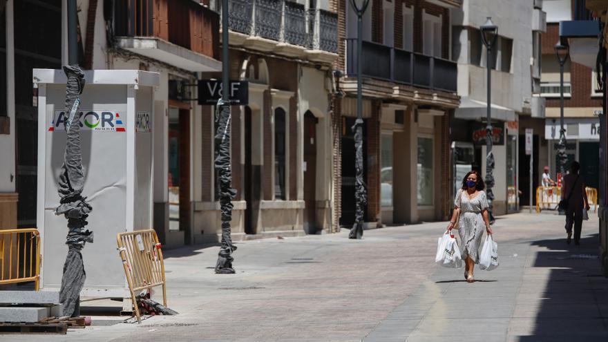 Las obras de la calle Duque de Fernán Núñez llegarán el lunes a su fin después de seis meses