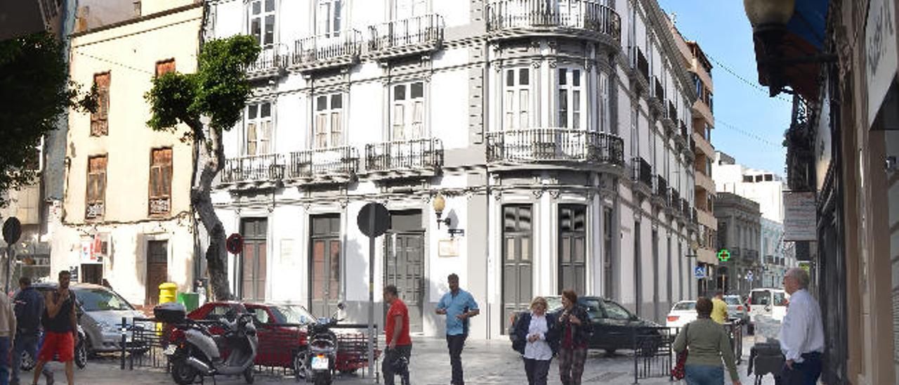 Patrimonio autoriza la reforma de dos palacetes para hotel y viviendas de lujo
