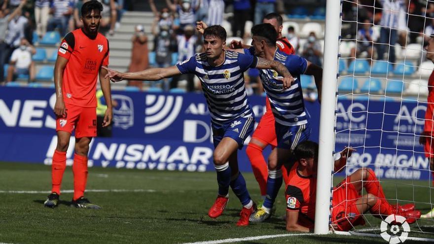 Así te hemos contado el Ponferradina - Málaga (4-0), minuto a minuto
