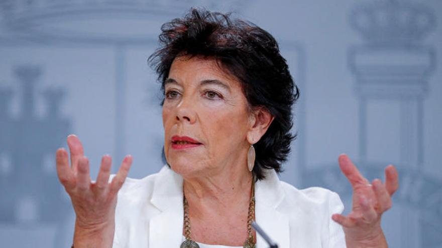 Isabel Celaá, segunda oportunidad para derogar la Lomce