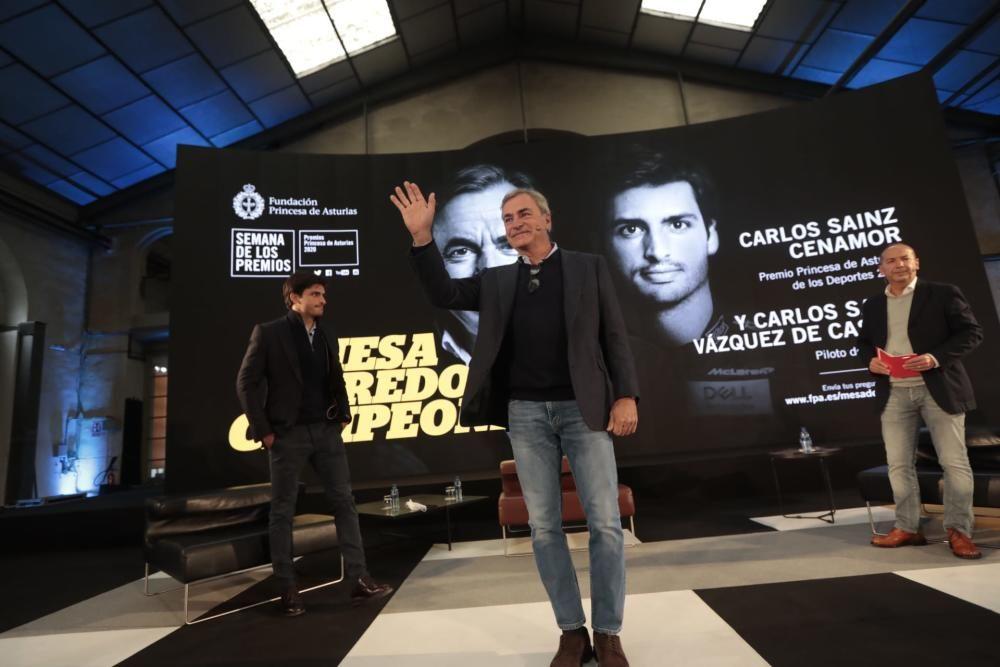 Premios Princesa de Asturias: Carlos Sainz