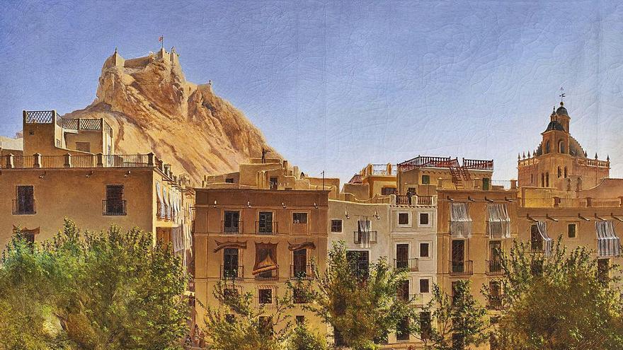 Didier Petit  y el Alicante de mediados del XIX