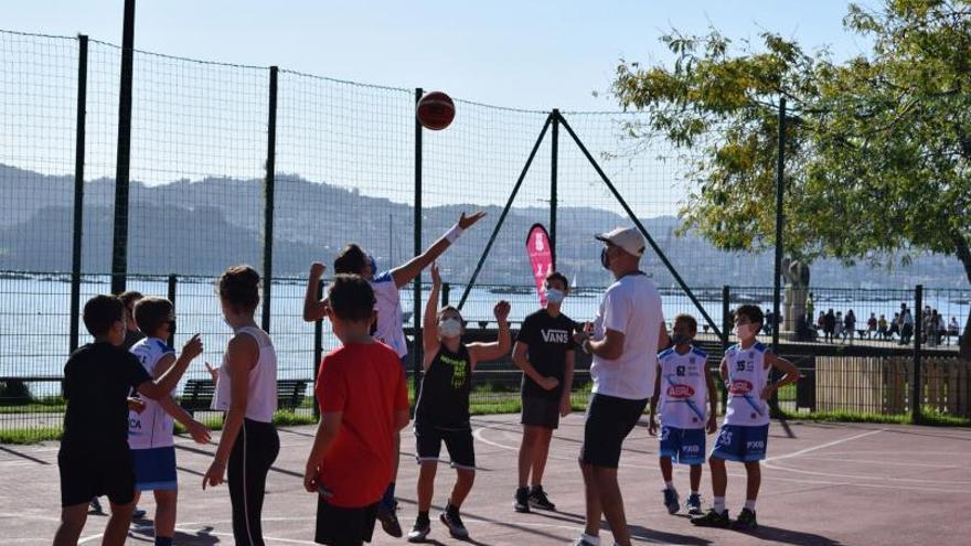 Moaña reivindica el basket 3x3
