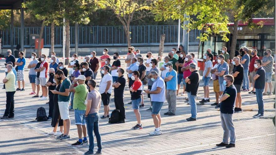 Los trabajadores de la EMT harán huelga a partir del 15 de septiembre