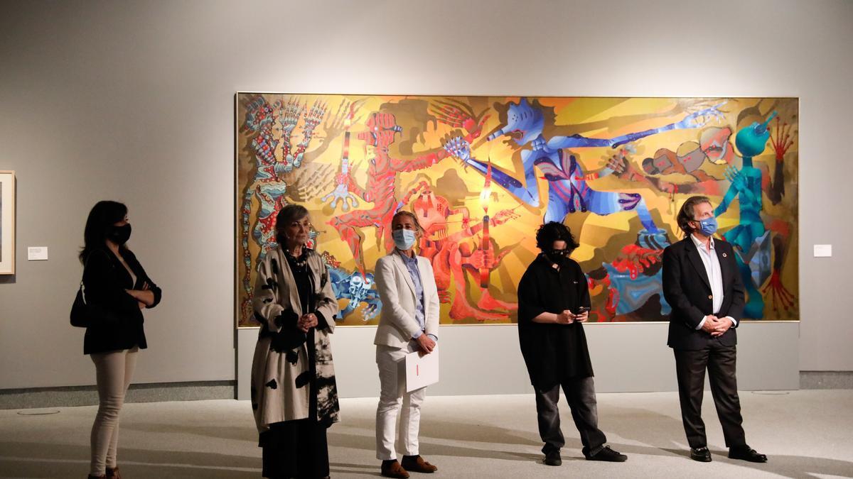Exposición de Joan Ponç en el Centro Niemeyer de Avilés