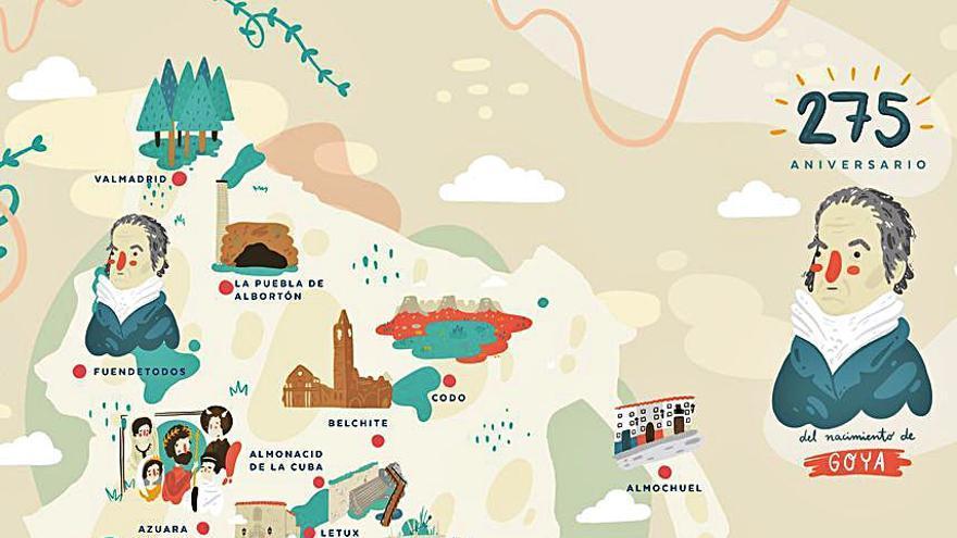 La Comarca presenta en Fitur un folleto turístico de edición especial
