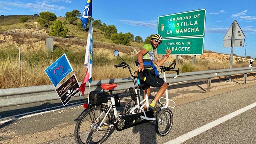 Iván Bragado: más de 2.800 kilómetros de capacidad