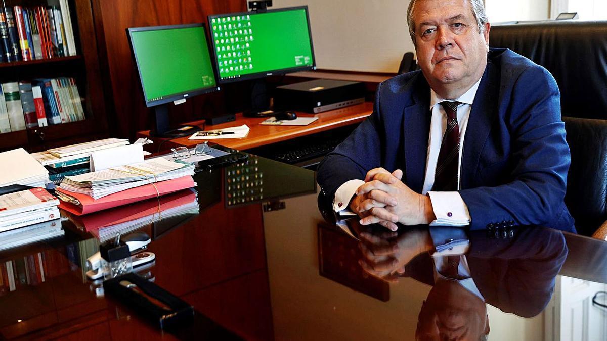 César Tolosa, presidente de la Sala de lo Contencioso Administrativo del Supremo.    // EFE
