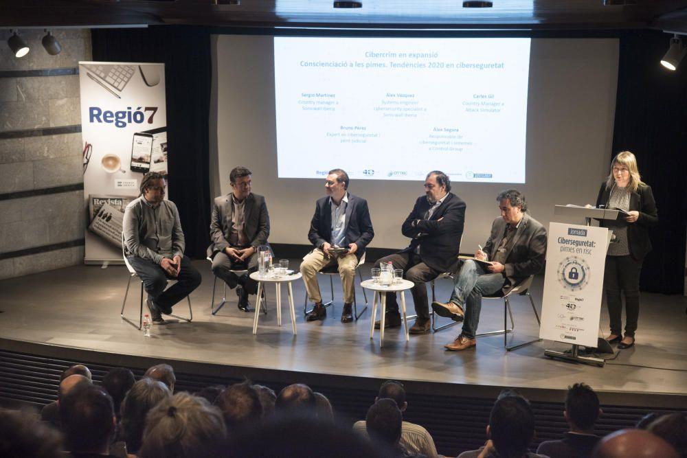 Jornada «Ciberseguretat: pimes en risc» organitzada per Regió7