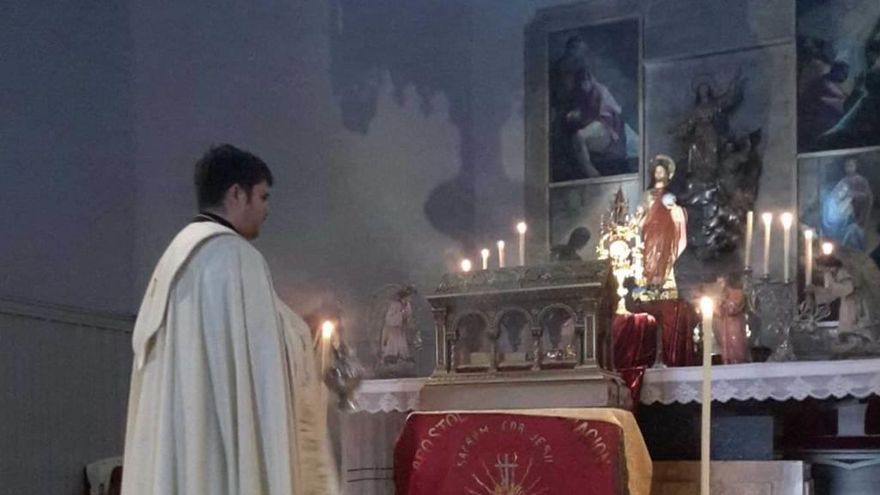 Las reliquias de Santa Margarita de Alacoque visitaron Laviana