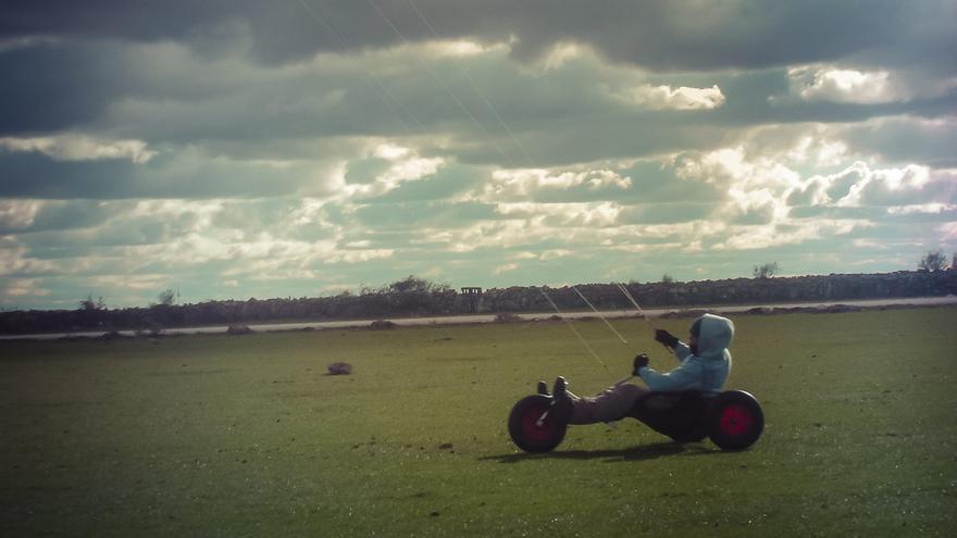 Kitebuggy cometas de tracción