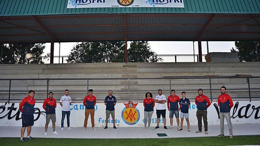 Vilariño y Cented Academy, fútbol y cultura en Pereiro