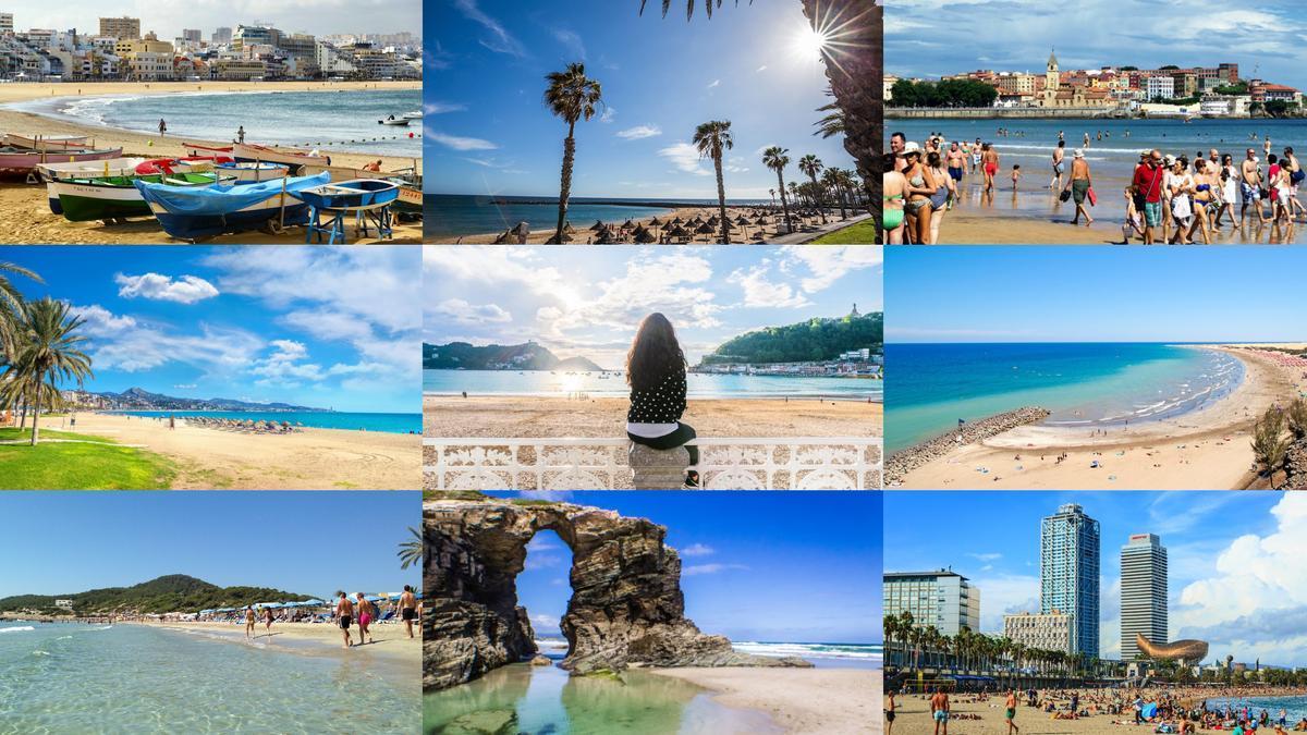 Las playas más 'instagrameadas' de España.