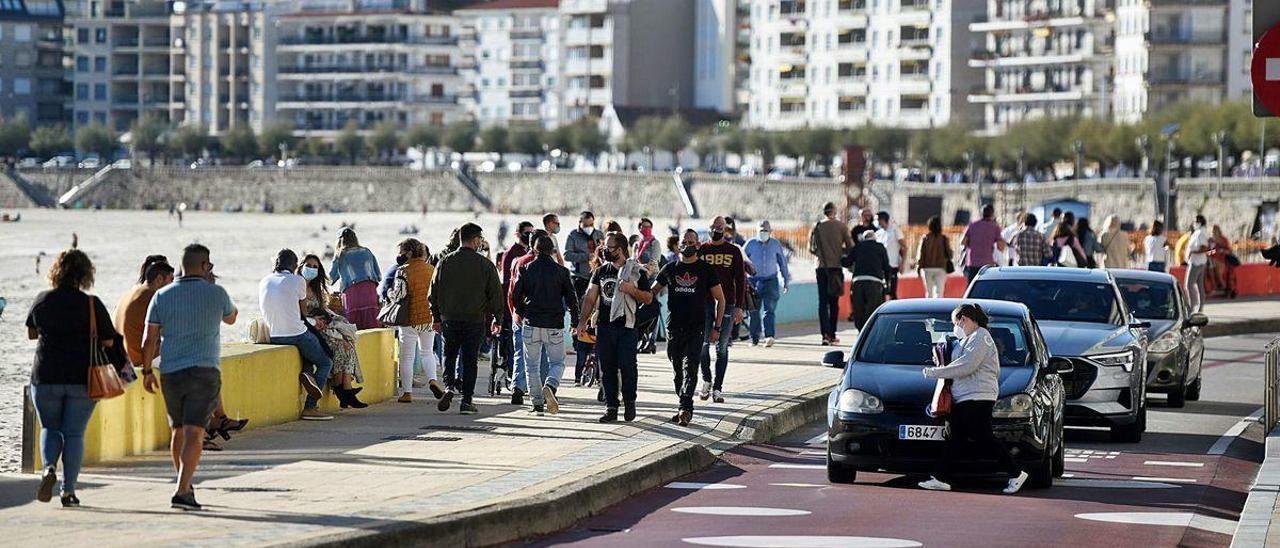Paseo de Silgar, Sanxenxo, una de las zonas más caras de Galicia