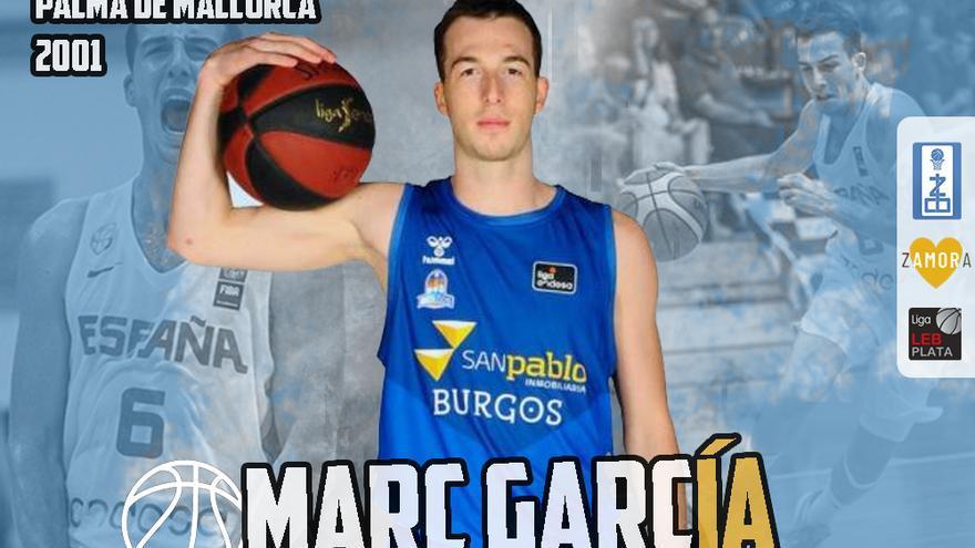 Marc García, nuevo base del Zamora Enamora