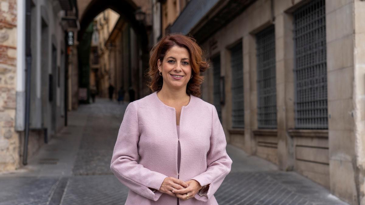 La alcaldesa de Teruel, Emma Buj.
