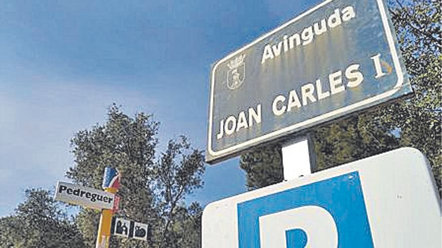 Luz verde a que la avenida Joan Carles I de Pedreguer pase a ser del País Valencià