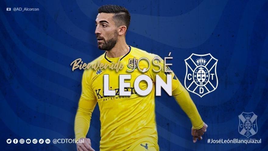José León, tercer refuerzo para el CD Tenerife de la próxima temporada