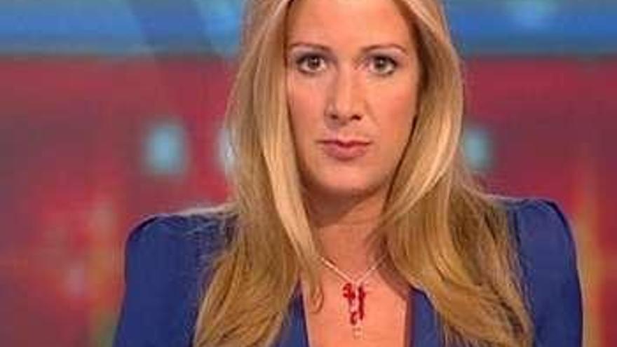 La emotiva despedida de una presentadora