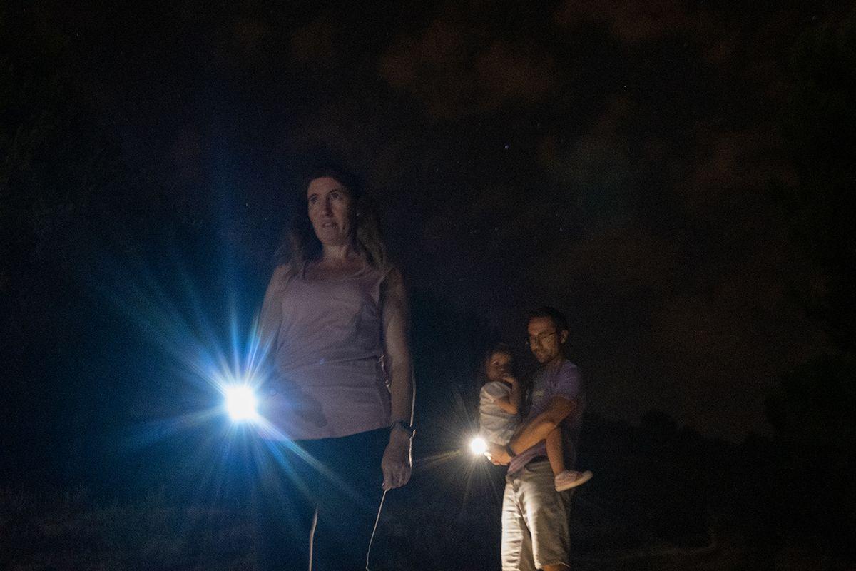 Noche de Perseidas en los Villares