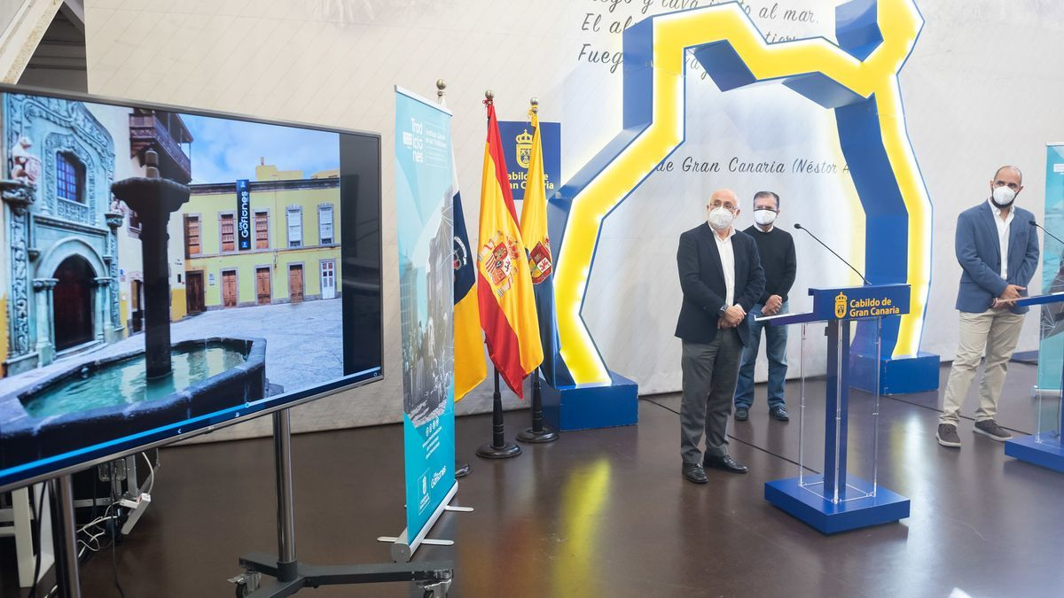 Presentation of the portal of the Canarian Institute of Traditions