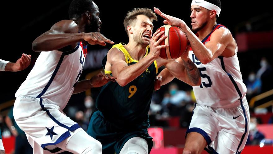 Estados Unidos remonta a Australia para alcanzar la final de baloncesto