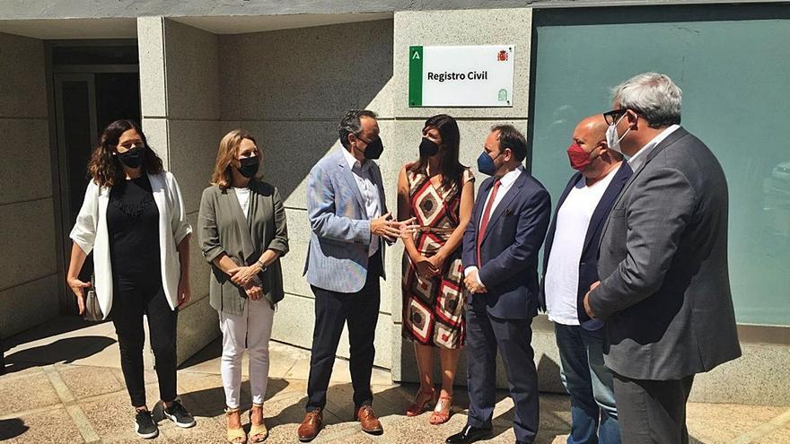 Justicia inaugura la nueva sede del Registro Civil en Torremolinos