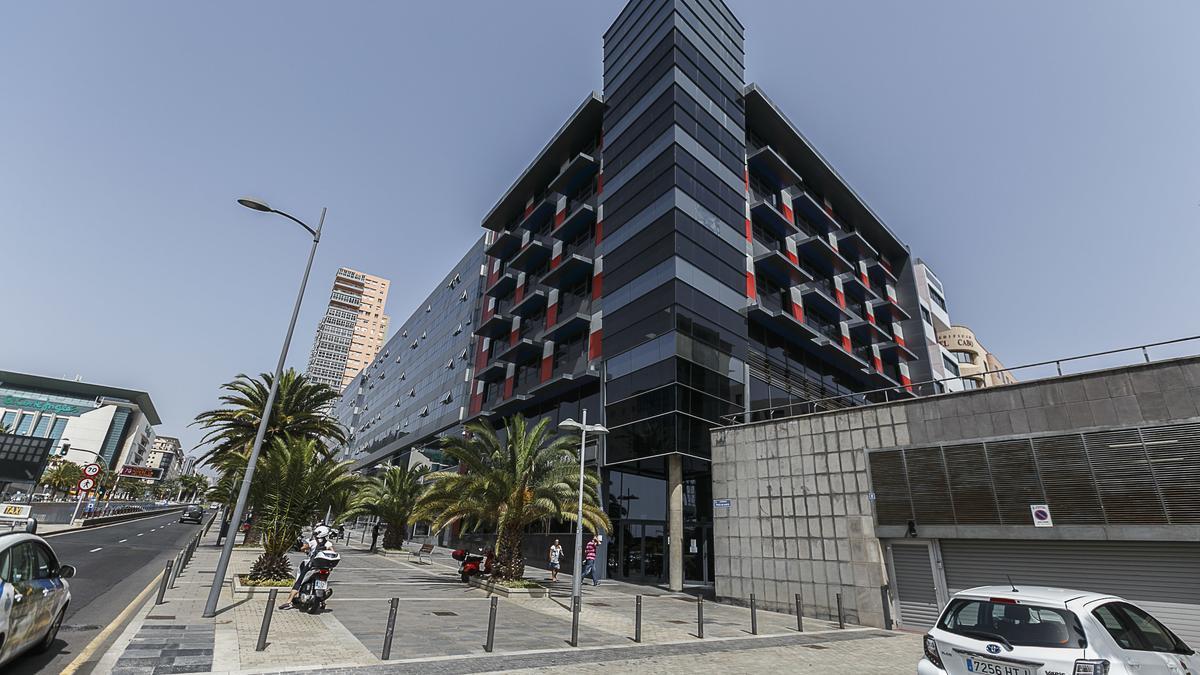 Instalaciones de la Agencia Tributaria en Santa Cruz de Tenerife.