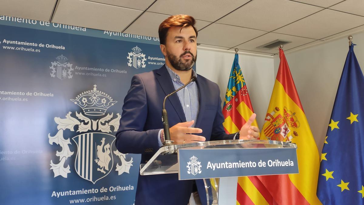 El portavoz del gobierno oriolano, José Aix