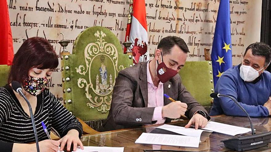 El Ayuntamiento de Benavente firma nuevos convenios con Adibe y la Sociedad San Vicente de Paúl