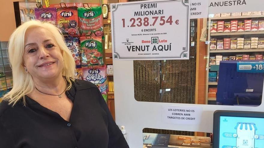 La Bonoloto deixa a Manresa un primer premi de més d'1,2 milions d'euros
