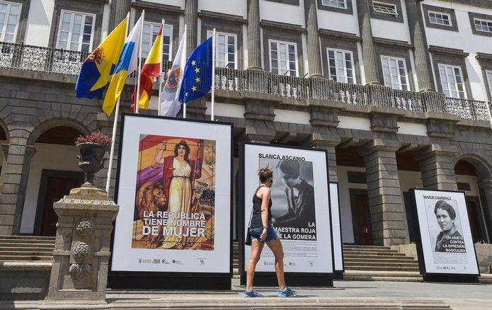 Exposición sobre II República en Las Palmas de Gran Canaria