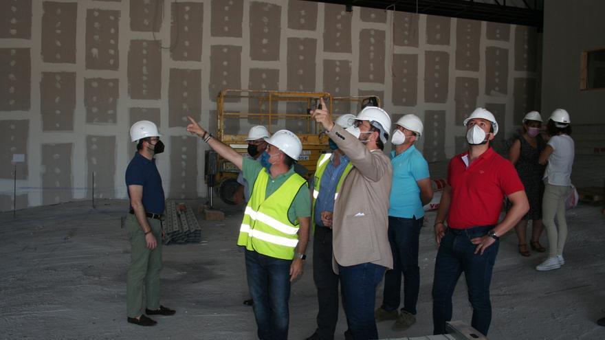 Las obras del Palacio de Ferias y Congresos de Lorca estarán concluidas el primer trimestre de 2022