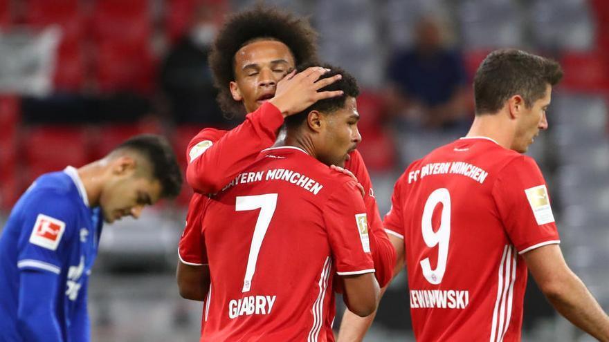El Bayern también le mete ocho al Schalke en un estreno arrollador en la Bundesliga