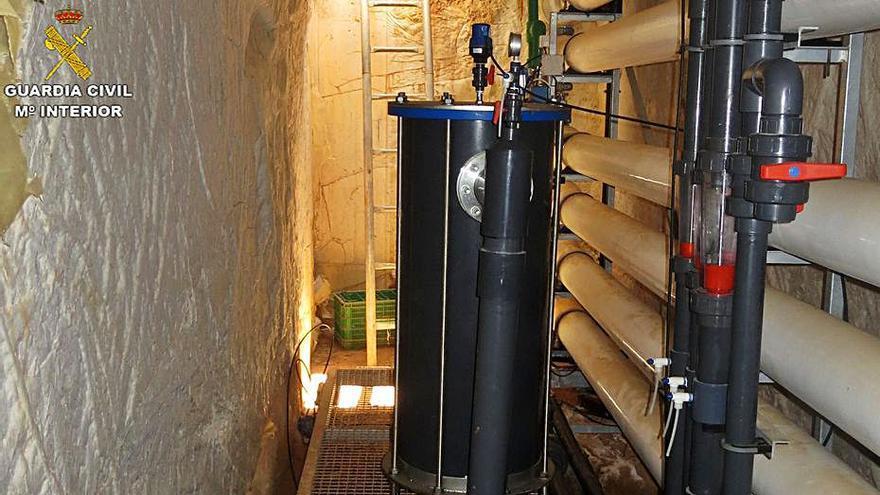 Investigan a un agricultor por extraer aguas subterráneas y verter residuos
