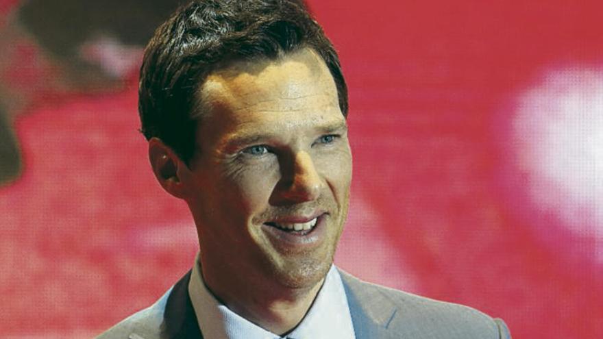 Cumberbatch, 'héroe' en la vida real