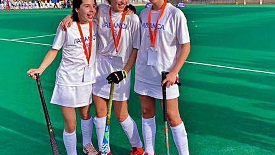 Marta García, Inés Pin y Dolores Feijóo también ganan con Galicia