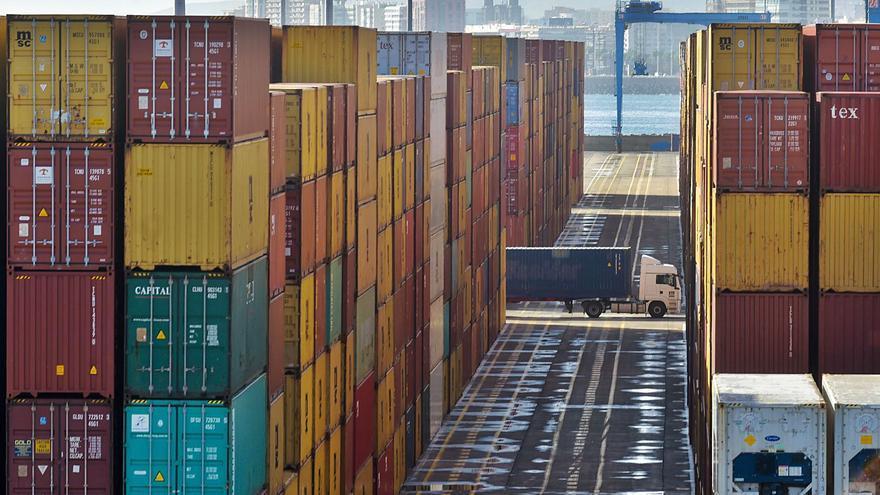 El Puerto de Las Palmas crece un 16% en agosto impulsado por los contenedores