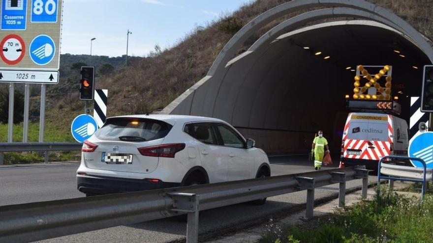 Situació normalitzada a la C-16, després de l'accident als túnels entre Puig-reig i Gironella