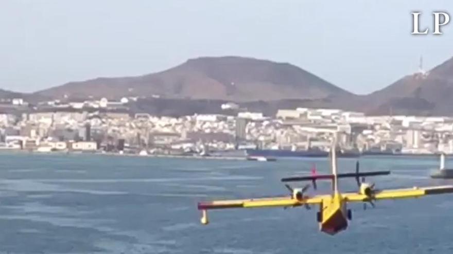 El Senado aprueba solicitar una base semipermanente de hidroaviones en Gran Canaria